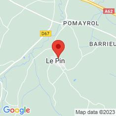 Carte / Plan Le Pin (Tarn-et-Garonne)