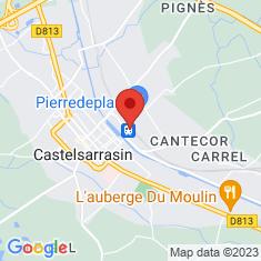 Carte / Plan Gare de Castelsarrasin