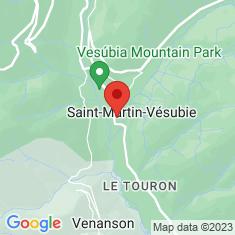 Carte / Plan Église Notre-Dame-de-l'Assomption de Saint-Martin-Vésubie
