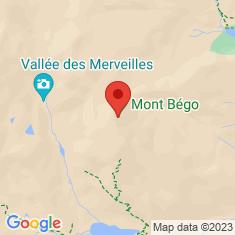 Carte / Plan Mont Bégo