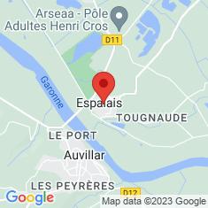 Carte / Plan Espalais