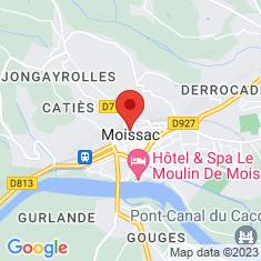 Carte / Plan Abbaye Saint-Pierre de Moissac