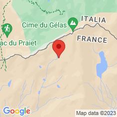 Carte / Plan Lac Blanc (Mercantour)