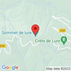 Carte / Plan Montagne de Lure