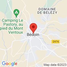 Carte / Plan Bédoin