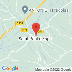 Carte / Plan Saint-Paul-d'Espis