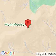 Carte / Plan Mont Mounier