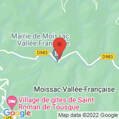 Carte / Plan Moissac-Vallée-Française