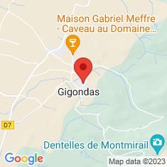 Carte / Plan Gigondas (Vaucluse)