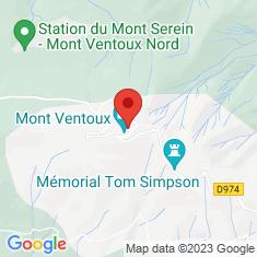 Carte / Plan Mont Ventoux