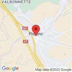 Carte / Plan Piolenc