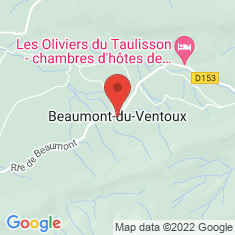 Carte / Plan Beaumont-du-Ventoux