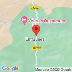 Carte / Plan Chapelle Saint-Sébastien d'Entraunes