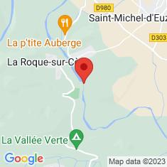 Carte / Plan Cascades du Sautadet
