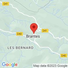 Carte / Plan Brantes