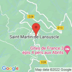 Carte / Plan Saint-Martin-de-Lansuscle