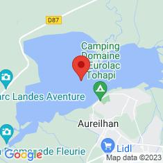 Carte / Plan Étang d'Aureilhan