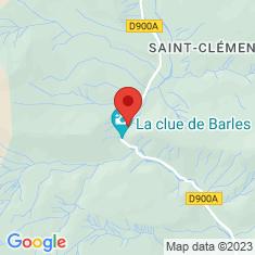 Carte / Plan Clue de Barles