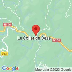 Carte / Plan Le Collet-de-Dèze