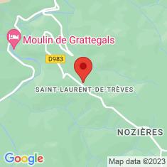 Carte / Plan Saint-Laurent-de-Trèves