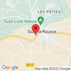Carte / Plan Château de Suze-la-Rousse