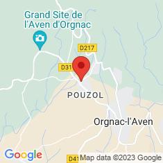 Carte / Plan Aven d'Orgnac