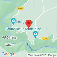 Carte / Plan Gorges de l'Ardèche