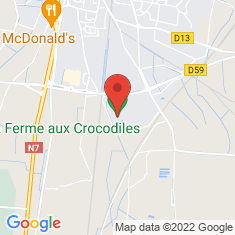 Carte / Plan La Ferme aux crocodiles