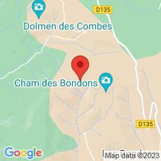 Carte / Plan Cham des Bondons