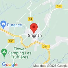 Carte / Plan Château de Grignan