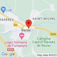 Carte / Plan Cathédrale Saint-Jean-Baptiste de Bazas
