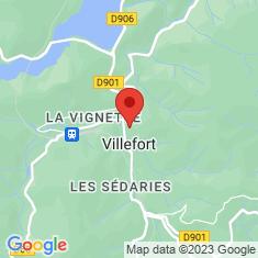 Carte / Plan Villefort (Lozère)