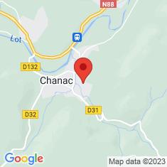 Carte / Plan Château de Chanac