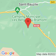 Carte / Plan Château de Montialoux