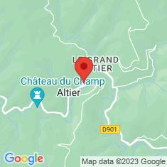 Carte / Plan Altier (Lozère)