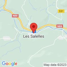Carte / Plan Les Salelles (Lozère)