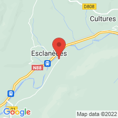 Carte / Plan Esclanèdes
