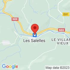 Carte / Plan Halte des Salelles