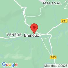 Carte / Plan Brenoux
