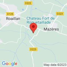 Carte / Plan Château de Roquetaillade
