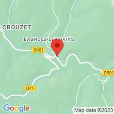 Carte / Plan Bagnols-les-Bains