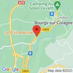 Carte / Plan Le Monastier-Pin-Moriès