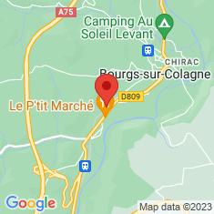 Carte / Plan Monastère Saint-Sauveur-de-Chirac