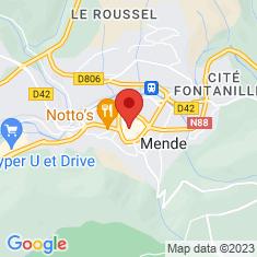 Carte / Plan Hôtel de préfecture de la Lozère