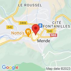 Carte / Plan Hôtel de Ressouches