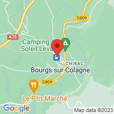 Carte / Plan Gare de Chirac
