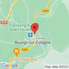 Carte / Plan Chirac (Lozère)