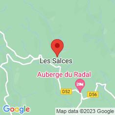 Carte / Plan Les Salces