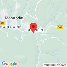 Carte / Plan Parc à loups du Gévaudan