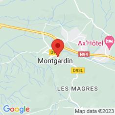 Carte / Plan Montgardin